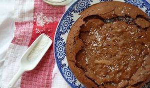 Gâteau au chocolat aux amandes et à l'huile d'olive de Trish Deseine