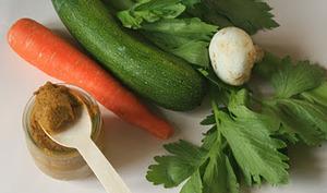 Concentré de bouillon de légumes