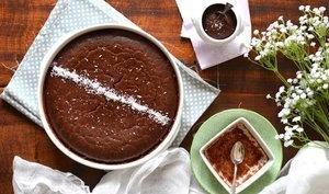 Gâteau végétal ultra-fondant choco-coco