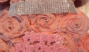 Une robe de cupcakes
