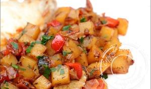 Pommes de terre à la paysanne