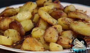 Pommes de terre sautées à la graisse d'oie