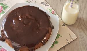 Le gâteau au chocolat de Chistophe Felder