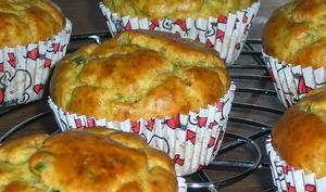 Muffins falafel épicés, sauce yaourt tahini ou coriandre
