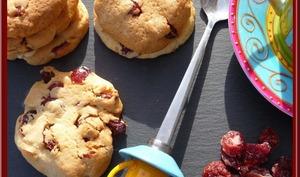 Cookies aux cranberries