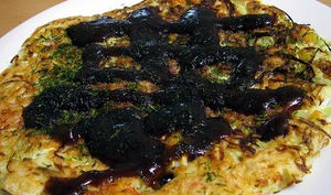 Ya chae jeon, pancake aux fines herbes et fruits de mer