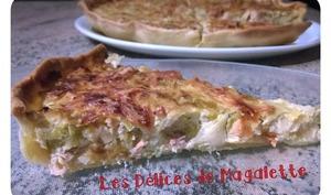 Tarte au Saumon et Poireaux