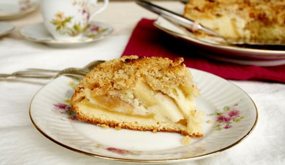 G teau crumble aux pommes une recette de cuisine conomique - Cuisine economique 1001 recettes ...