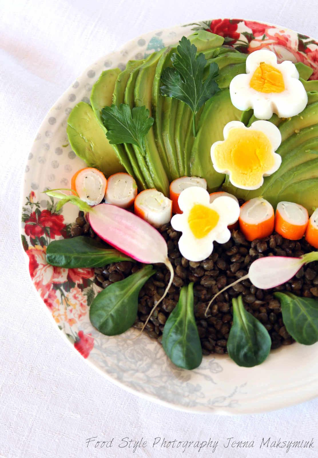 recettes d 39 oeuf dur par bistro de jenna power salad bowl salade de ma s et l 39 ananas oeufs. Black Bedroom Furniture Sets. Home Design Ideas