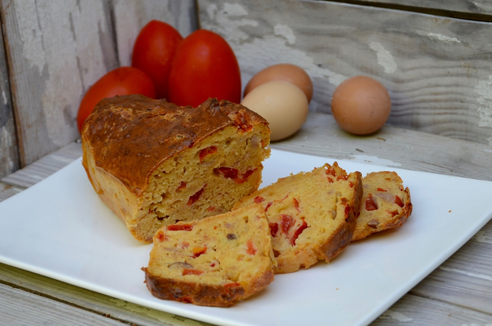 Cake Thon Tomate Asperge