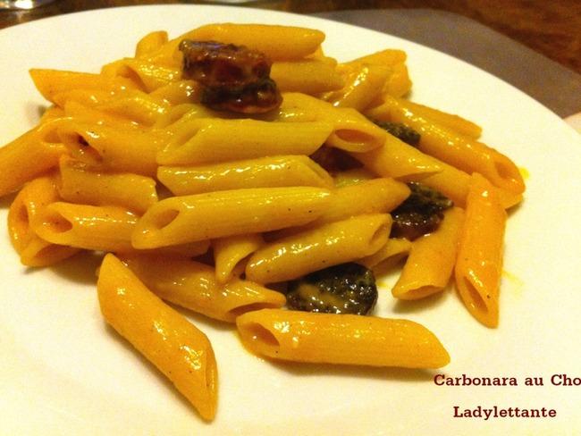 Carbonara au Chorizo