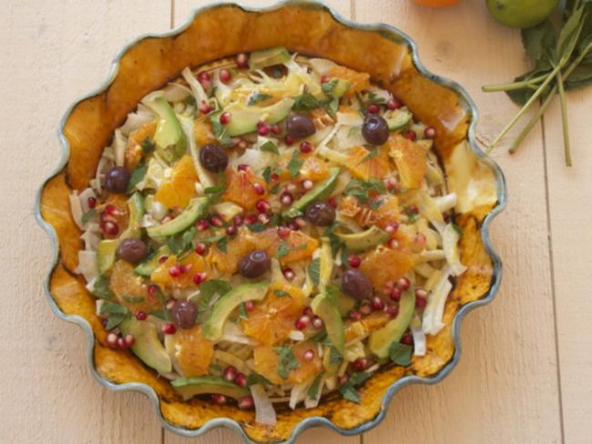 Salade de fenouil et d'oranges maltaises