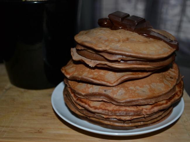 Les pancakes au chocolat de Claire