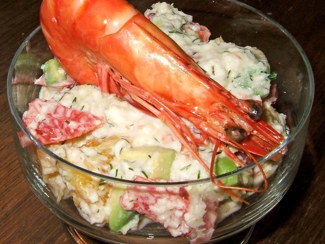 Cocktail de crabe aux agrumes