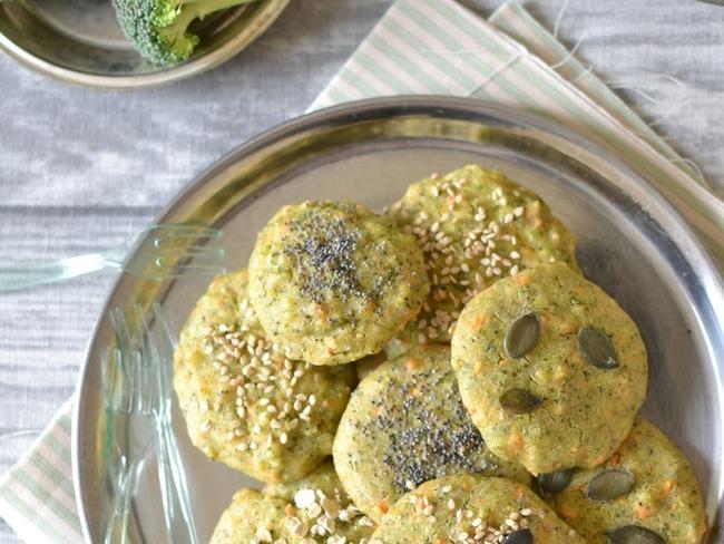 Biscuits végétaux brocoli-carotte