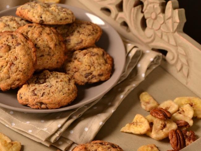 Cookies banane et chocolat