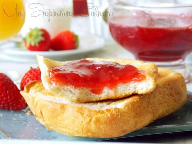 Confiture de fraises express au micro onde