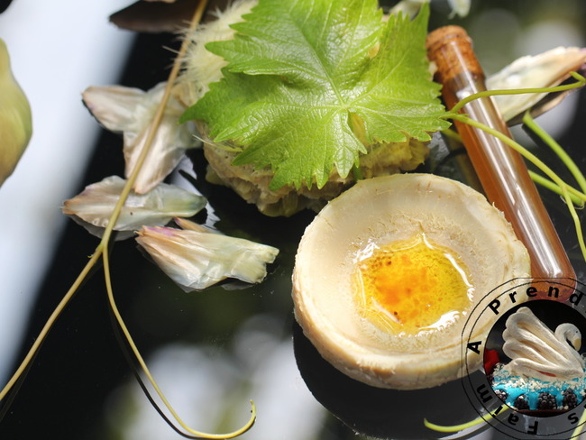 Artichauts à la vinaigrette sucrée salée
