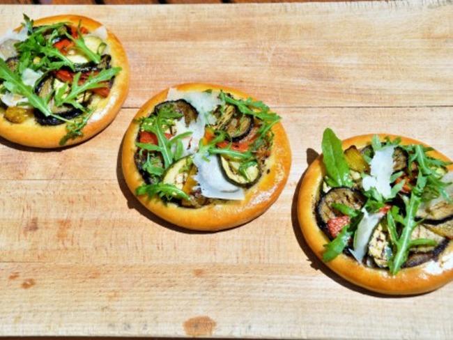 Comme une focaccia : une Tarte aux Légumes grillés