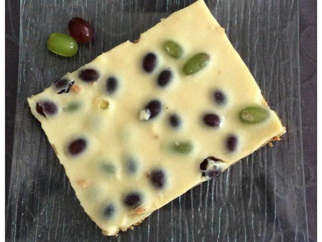 Tarte biscuités & crémeuse aux raisins frais