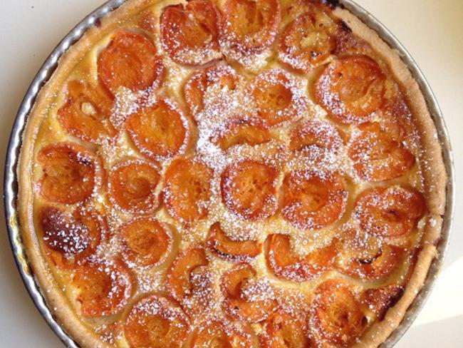 Ma tarte aux abricots