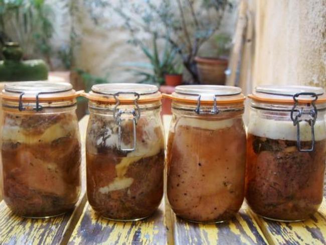 Conserve de jambon blanc