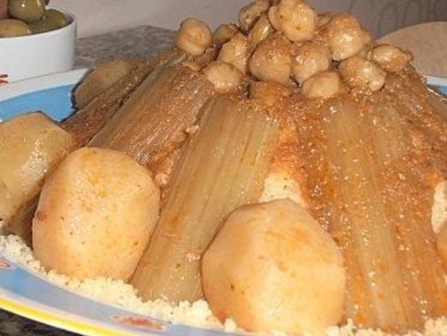 couscous aux cardons