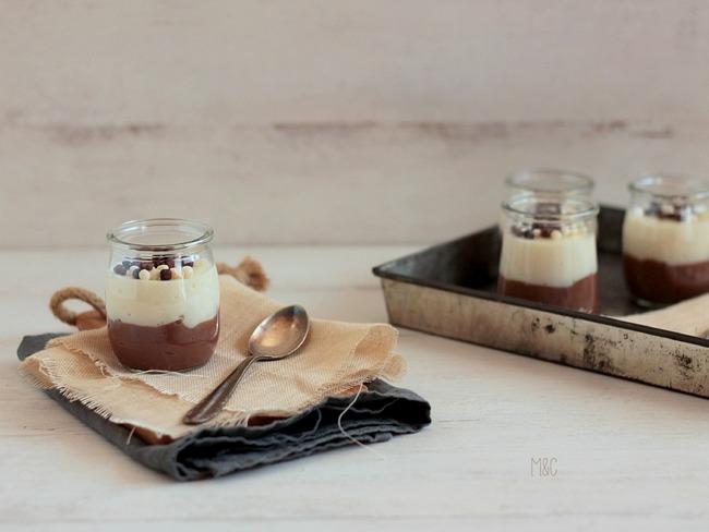 Crèmes aux Deux Chocolats