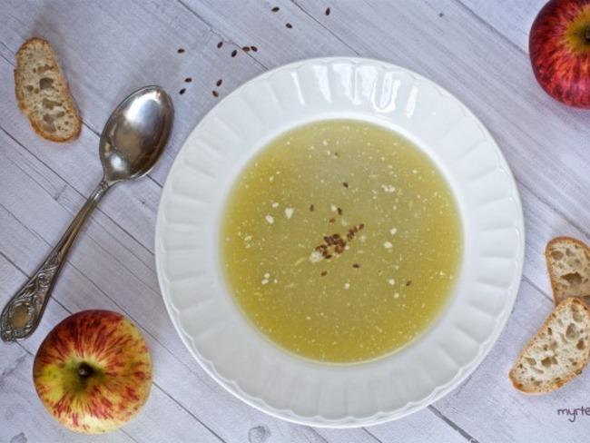 Une petite soupe détox mais gourmande !