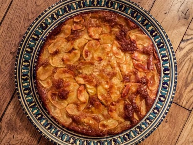 Un merveilleux gâteau aux pommes