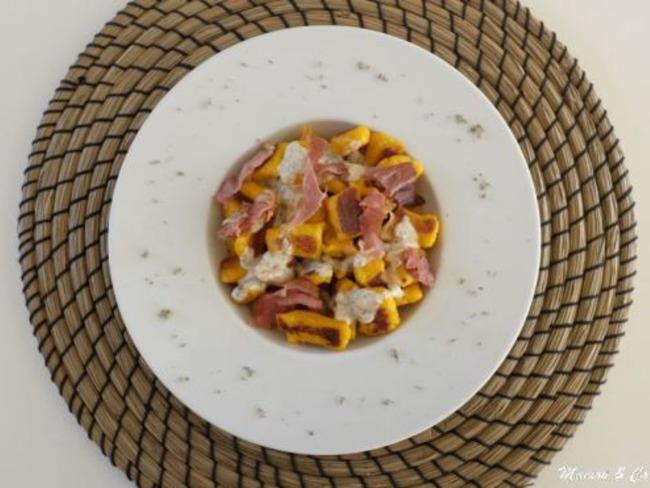 Gnocchi de potimarron au parmesan et à la sauge