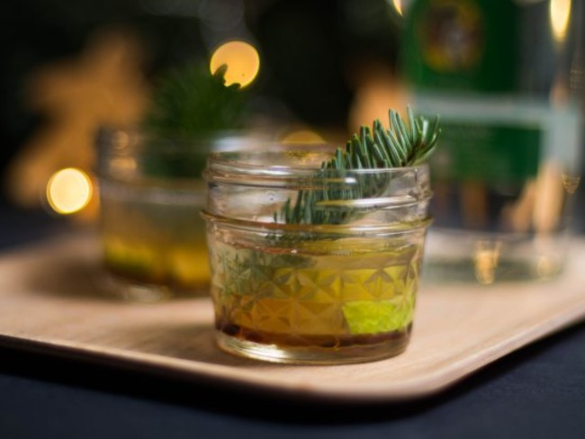 Cocktail de Noël Rhum Sapin