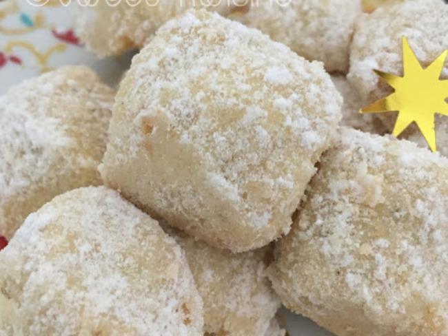 Les vanille kipferl ou bonbons à la vanille