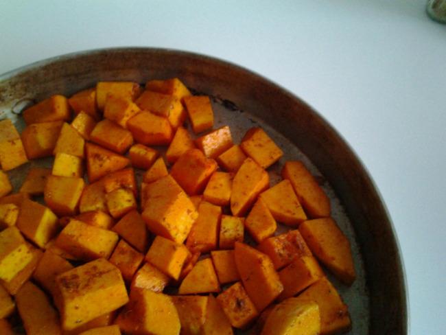 Courge butternut façon potatoes