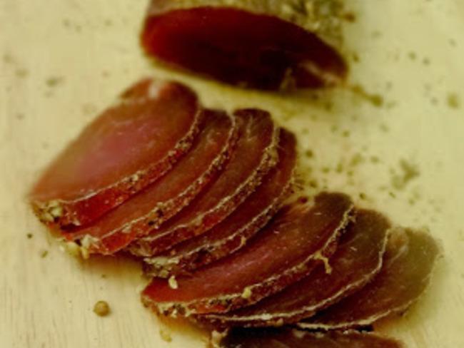 Filet mignon de porc séché