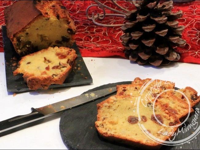 Cake aux fruits secs et rhum ambré