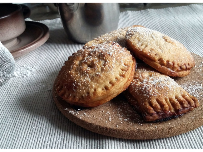 Pop-tarts à la compote de pommes et abricots