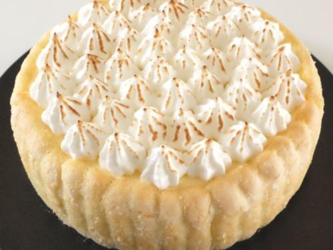 Charlotte façon tarte au citron meringuée