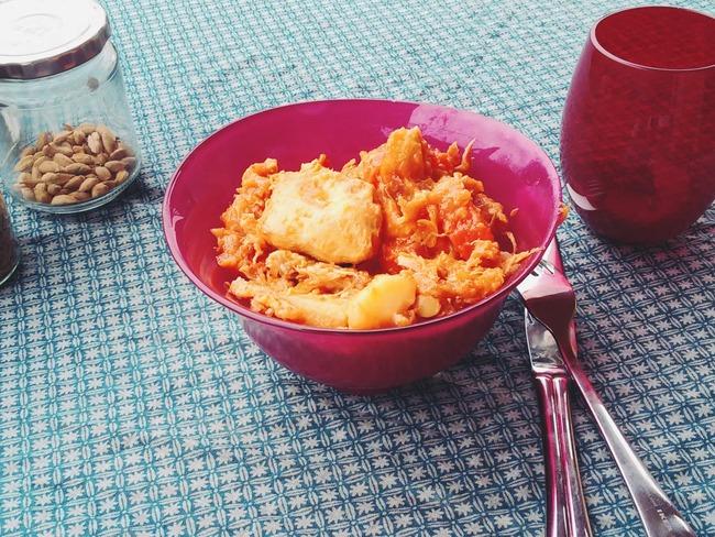 Couscous de poulet en cocotte