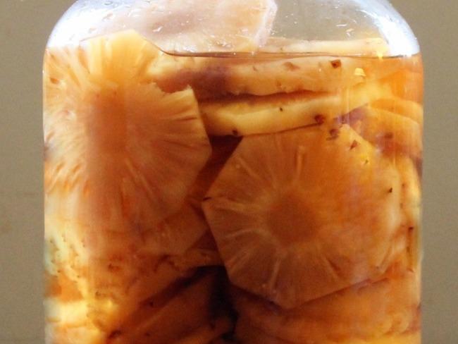 Rhum arrangé ananas vanille