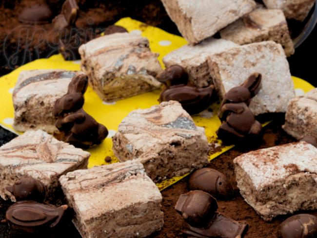 La guimauve au chocolat