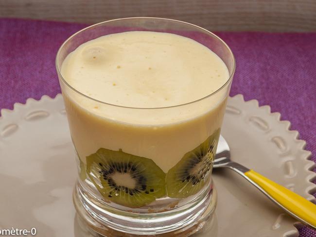 Tiramisu aux kiwis et limoncello