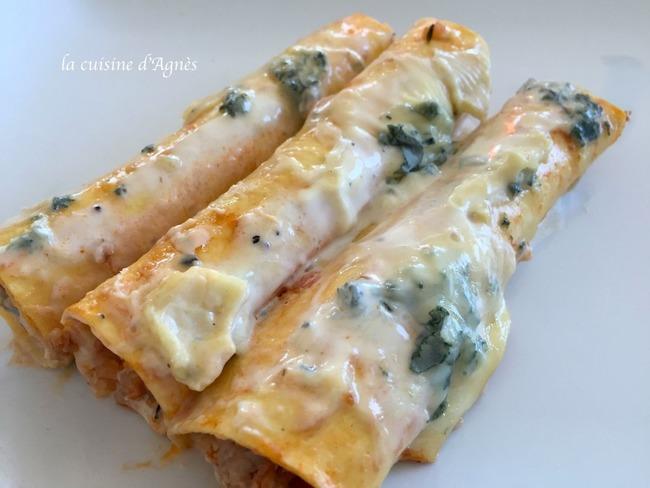 Cannelloni bleu de bresse