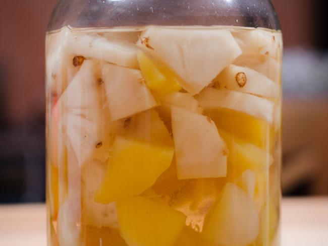 Rhum ananas, mangue et gingembre