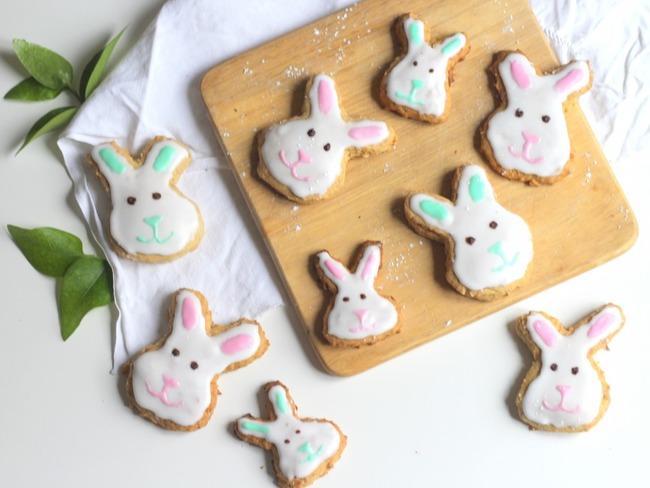 Biscuits de Pâques aux carottes