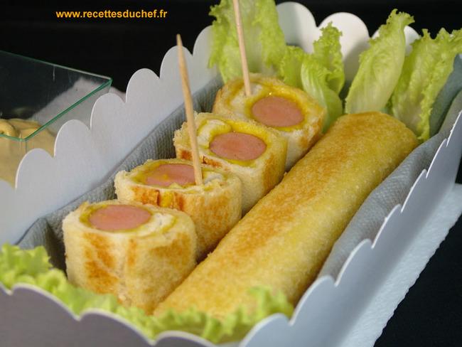 Croq'dog express : le croque monsieur hot dog