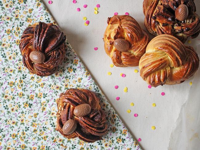 Brioche feuilletée et chocolatée