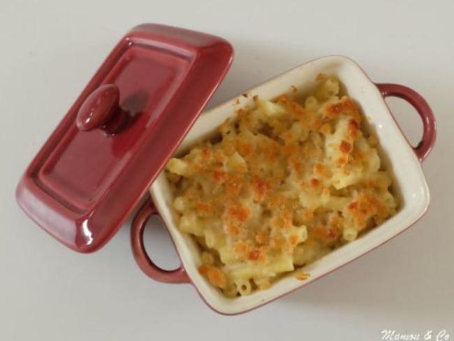Gratin de macaroni crousti-moelleux