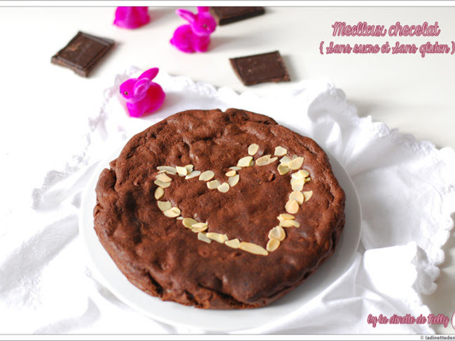 Moelleux chocolat 0 sucre 0 gluten