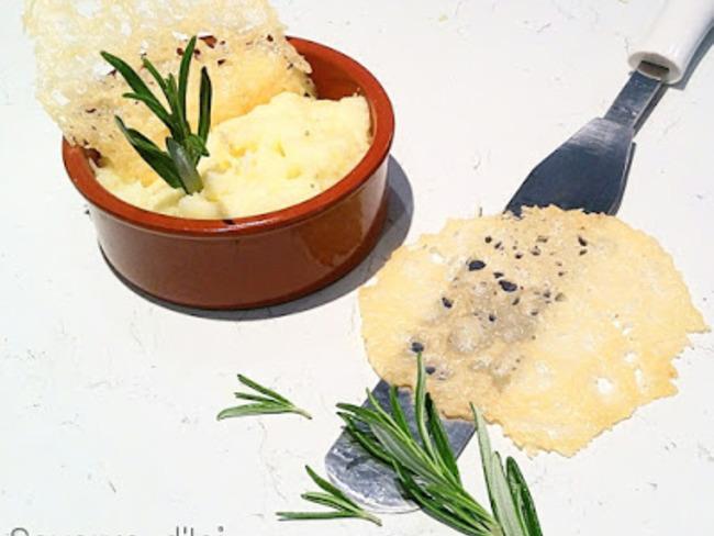 Crémeux de panais au parmesan